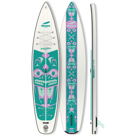 Indiana SUP 11'6 Touring LITE LTD Inflatable SUP, white/green